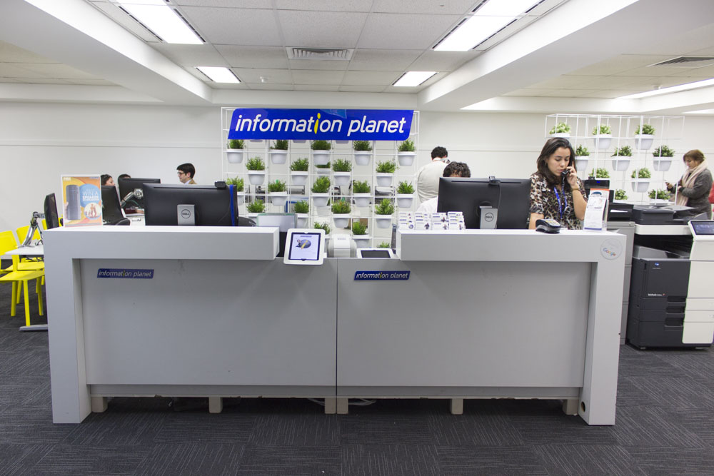 recepce information planet v sydney australie