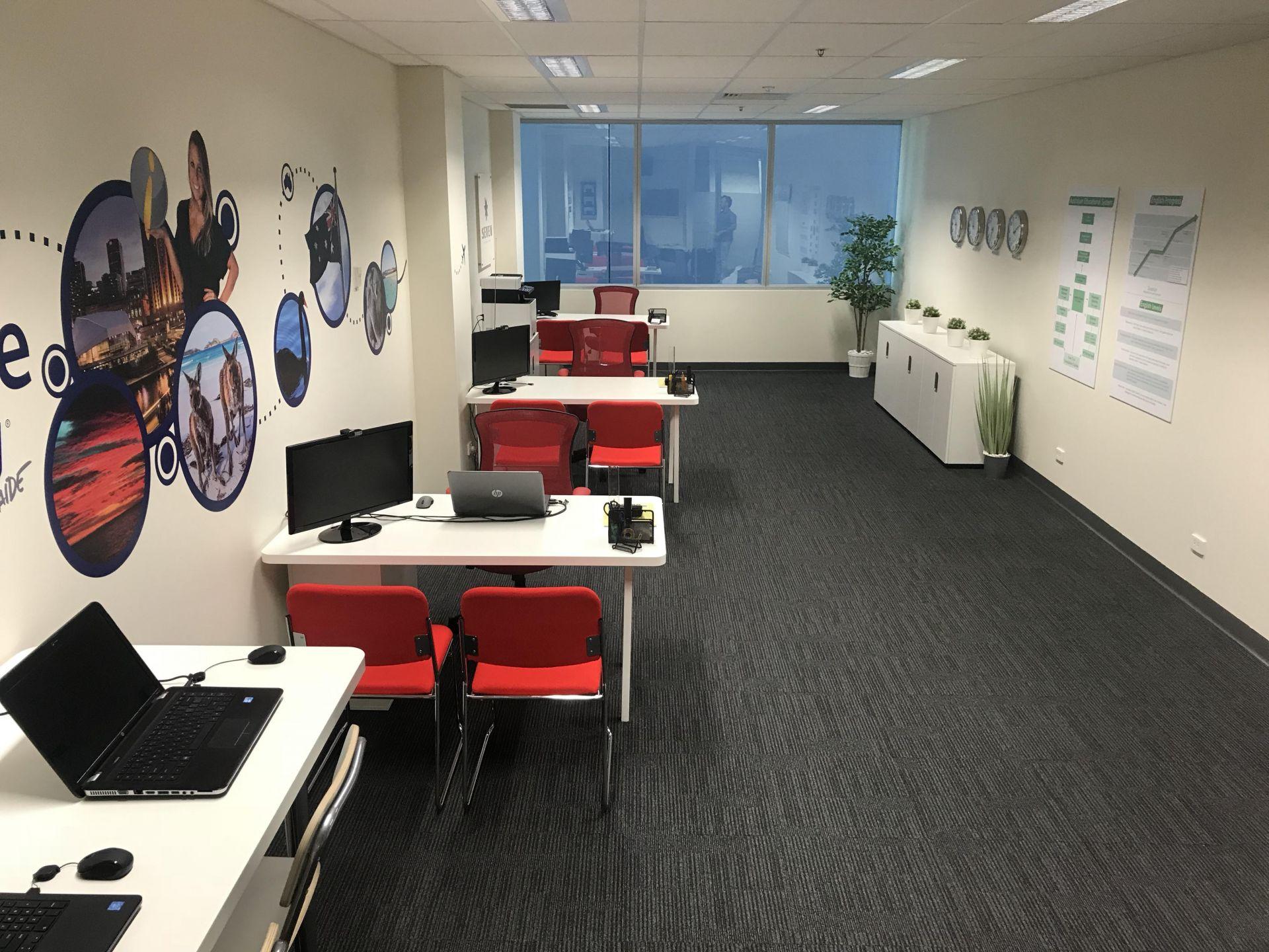 Kancelář v Adelaide